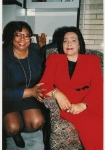 Maggie and Coretta Scott King