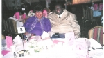 Maggie and Walter at banquet honoring Reverend Beauford Cray