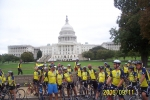 Patrick & Michelle Cray in front of Capital Bldg. In D.C. during 267 mile Tour De Force Bike Ride