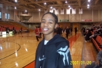 Lynnette Cray at Bflo. State after Basketball game. on 012007  Sr. year at Plattsburgh.