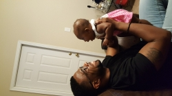 Me and my Goddaughter Ni'Yahle